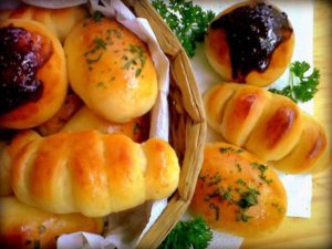 Roti unyil dapur ocha