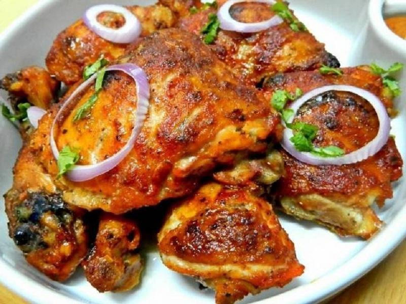 Hasil gambar untuk ayam tandoori masakan india
