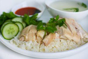 Resep Masakan Singapore Nasi Ayam Hainan Gurih dan Lezat