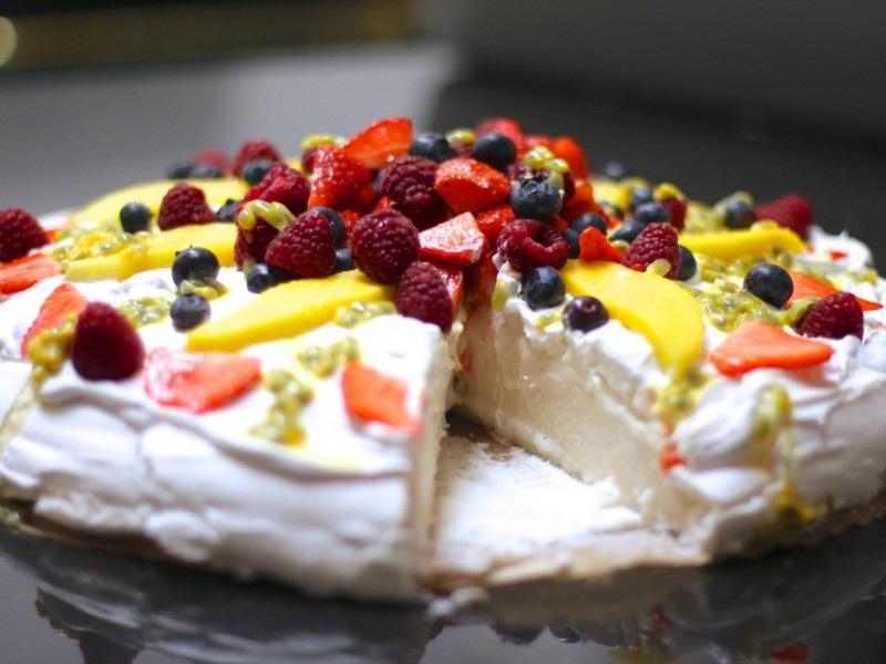 Resep Pavlova, resep masakan australia