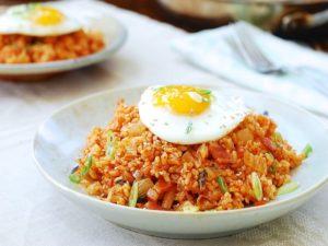 Resep Masakan Korea Nasi Goreng Kimchi Bokkeumbap