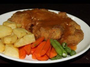 Resep Chicken Crispy Steak