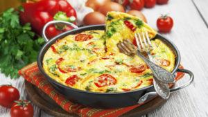 Resep Frittata Keju dan Ayam