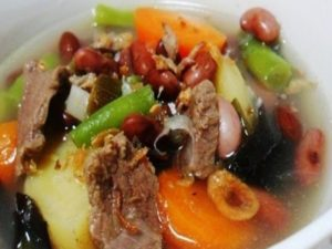 Resep Sup Kacang Merah