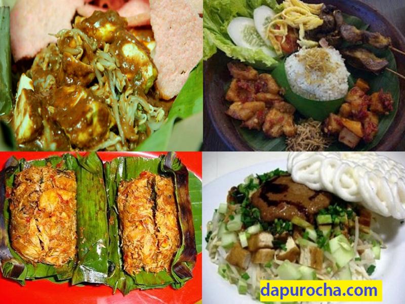 4 Resep Makanan Khas Sunda Asli Enak Dapur Ocha