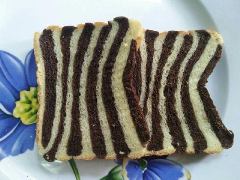 Resep Roti Tawar Zebra Lembut Dan Empuk