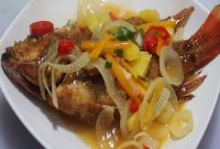 resep Ikan Nila asam manis yang bikin ketagihan