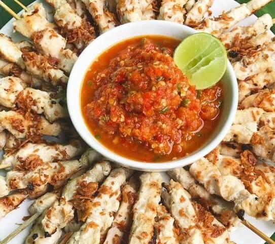 Bisnis Makanan Kekinian Menjual Sate Taichan