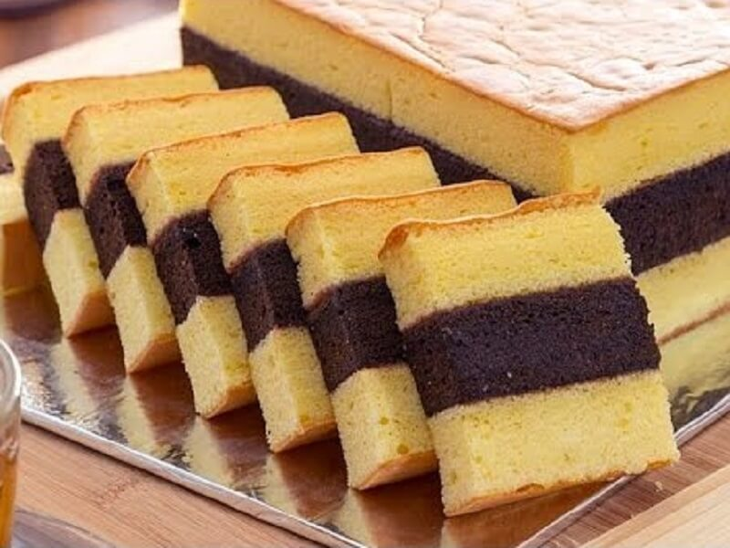 Resep Kue Lapis Moka Vla Cemilan Kekinian