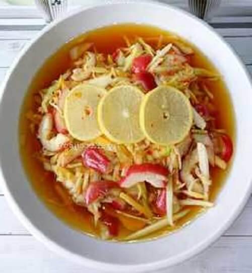 Resep Rujak Buah Lemon
