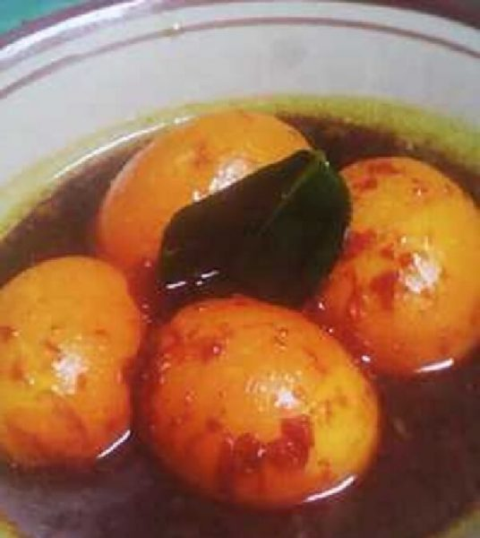 Resep Telur Kecap Untuk Ibu Hamil