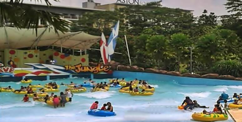 The Jungle Water Adventure Tempat Wisata Bogor