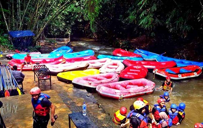 Wisata Bogor Kampoeng Air Katulampa