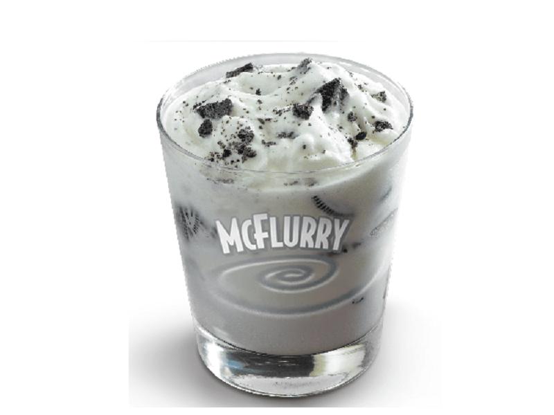 resep es krim McFlurry minuman segar