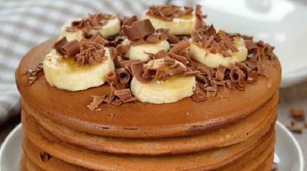 Resep Pancake Banana Nutella Oatmeal