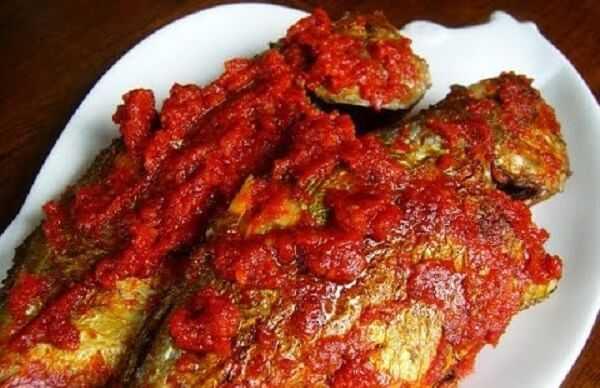 Resep Ikan Kembung Balado
