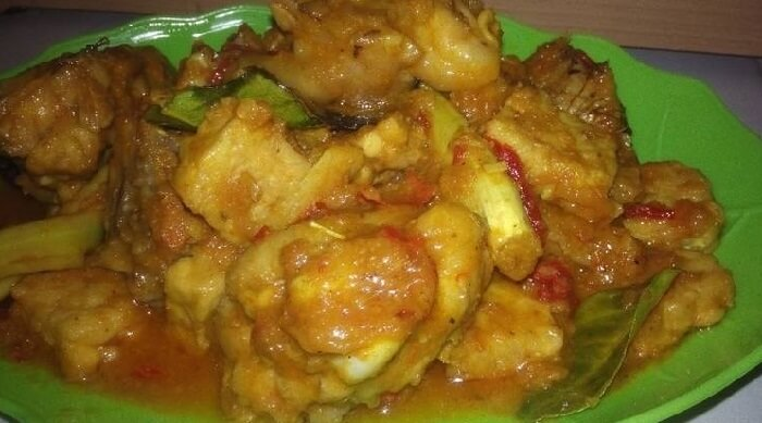 Resep Rica Rica Ayam Bumbu Kuning
