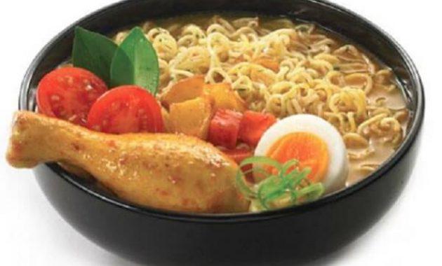 Resep Indomie Rebus Kari Ayam Pedas
