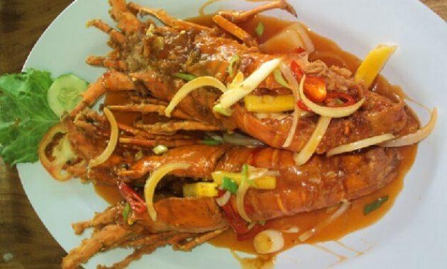 Resep Lobster Saus Padang