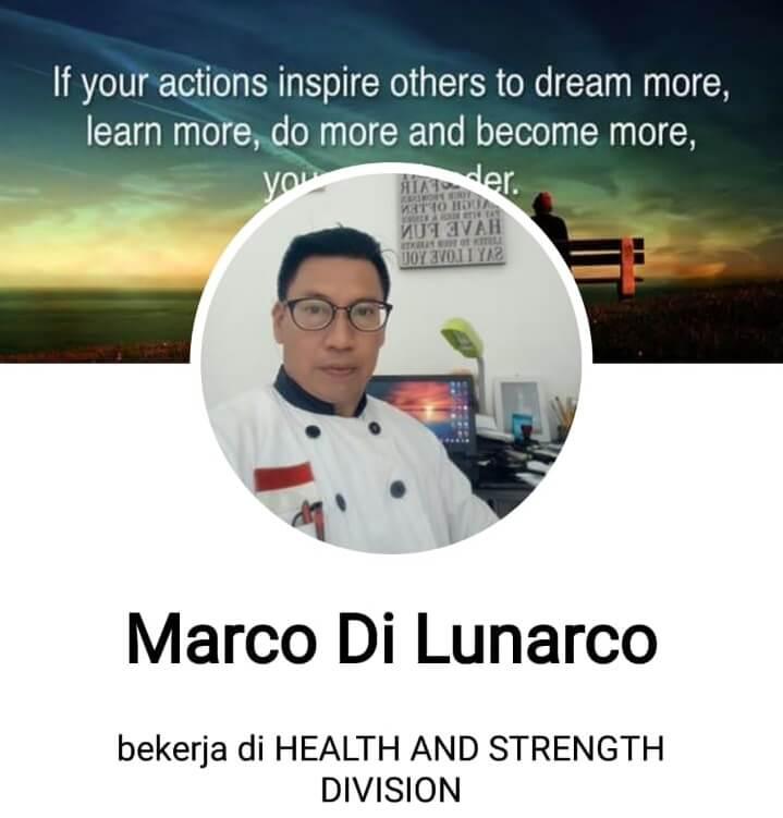 Kisah Inspiratif Pastry Chef Marco Di Lunarco