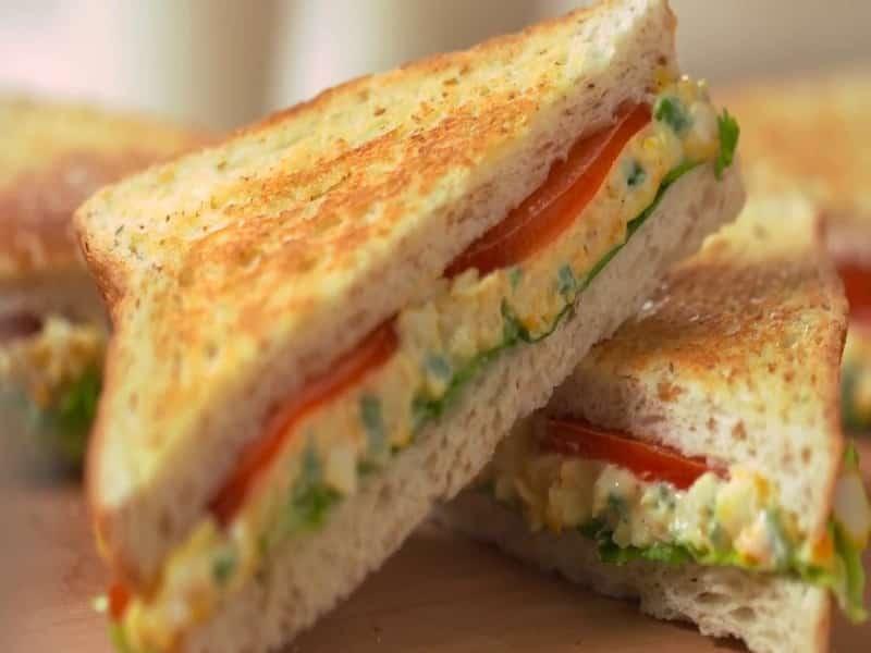 Egg Sandwich Telur