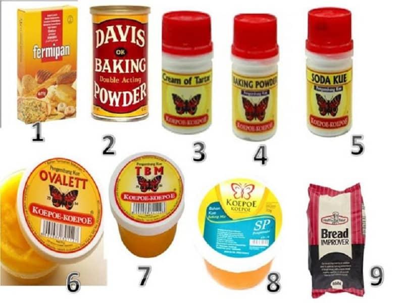 Jenis-Jenis Pengembang kue dan Cake Emulsifier