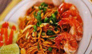 Mie goreng Seefood makanan favorit ahok
