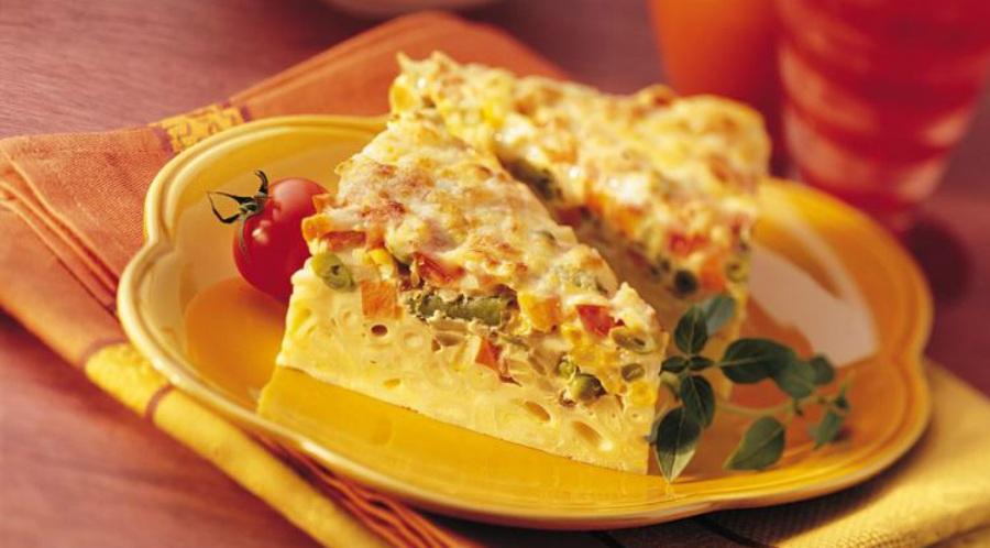 Omelet Makaroni Isi Daging